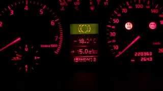 Коригування показників витрати палива Audi A6 C5