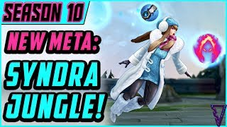 How To Play Syndra Jungle In Season 10 // Jungle Carry Guide - League of Legends
