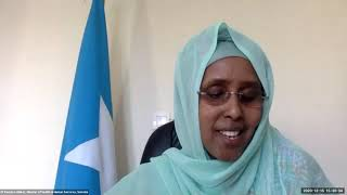 Speech of Somali Health Minister Fawziya Abikar Nur on the SDG3 Global Action Plan