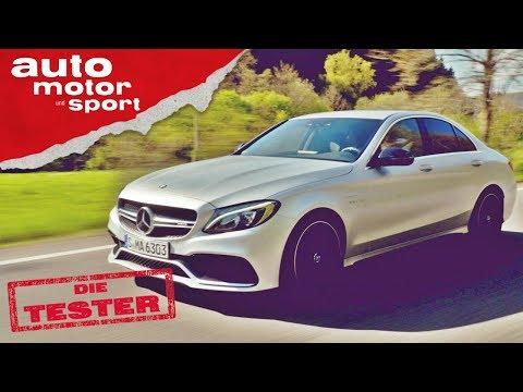 Mercedes-AMG C 63 S: Der Leasing-Liebling aller Youtuber - Die Tester | auto motor und sport