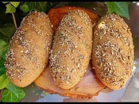 Мекичък пълнозърнест хляб с овесени ядки ❤