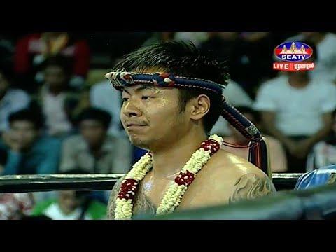 Dun Rotha vs China, Khmer Boxing Seatv 22 April 2018, Kun Khmer vs Muay Thai