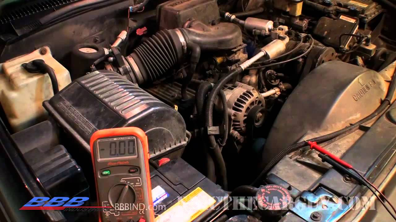 1992 Toyota Truck Wiring Diagram 2004 Chrysler Pacifica How To Test And Troubleshoot An Alternator Problem - Youtube