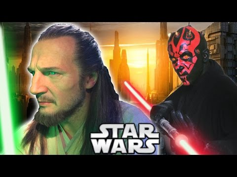 Why Did Qui-Gon Jinn Advance Against Darth Maul Without Obi Wan? - Star Wars Explained