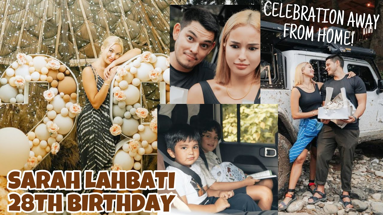 Download Sarah Lahbati 28th Birthday Celebration sa Bulod Campsite | Kakaibang celebration away from home ❤️