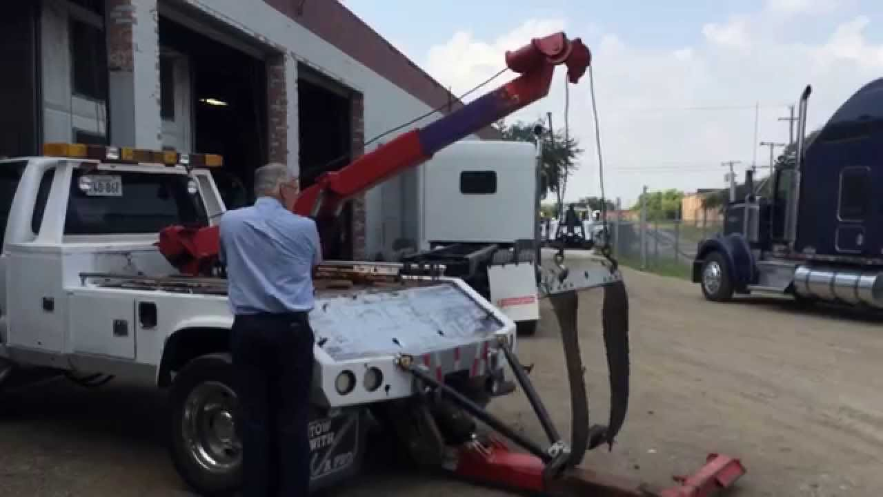 1999 Ford F-450 Super Duty Holmes Wrecker - Bed - YouTube