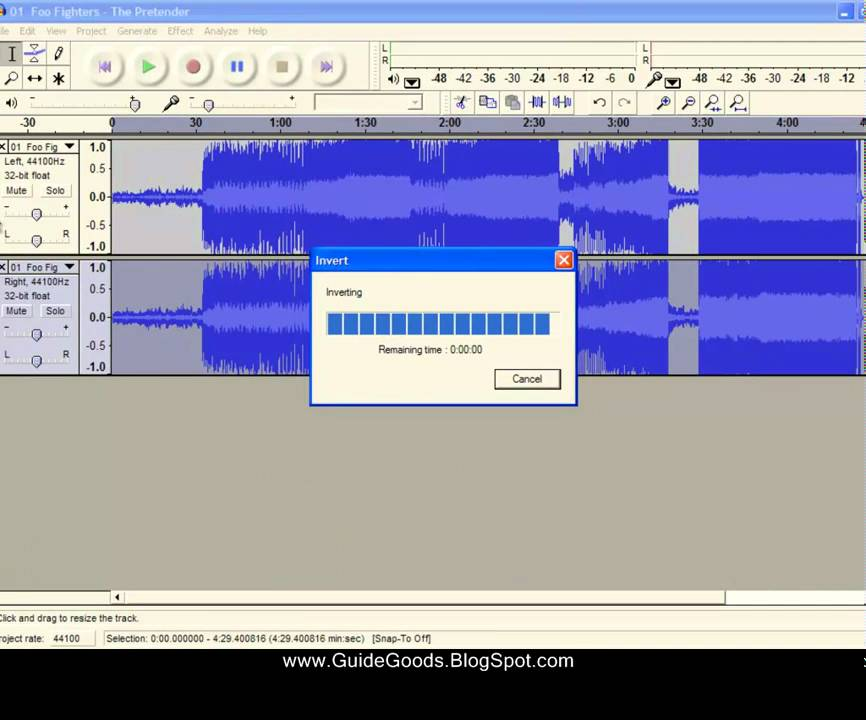 How to Make Any Song Instrumental Using the Audacity Program