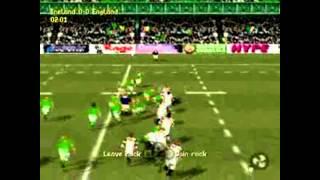 Ireland Vs England On Jonah Lomu Rugby