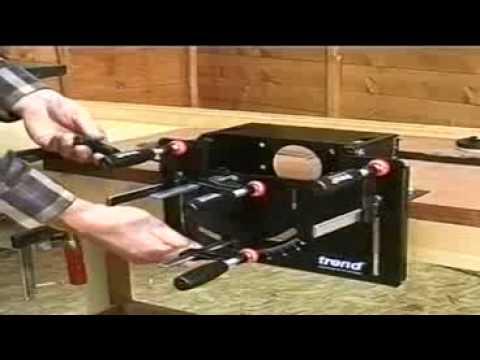 gabarit tenons mortaises et tourillons pour d fonceuse hmdiffusion youtube. Black Bedroom Furniture Sets. Home Design Ideas