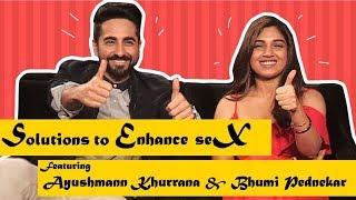 Solutions to Enhance Sex I Shubh Mangal Savdhan I Ayushmann Khurrana & Bhumi Pednekar I Happii-Fi