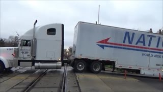 This Trailer Blocked The West Line
