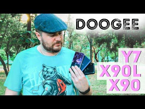 Doogee Y7, X90, X90L - обзор смартфонов