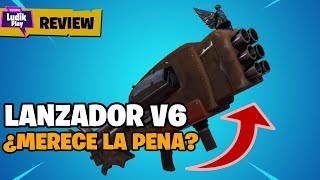 BECAUSE AT THE END THE V6 LAUNCHER IS VERY... FORTNITE SAVE THE WORLD REVIEW ENGLISH GUIDE