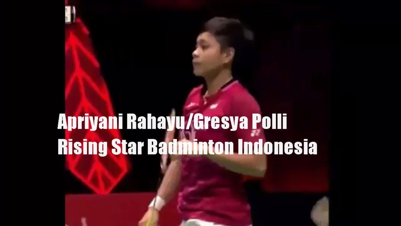 Apriyani Rahayu Gresya Polli Rising Star Badminton indonesia