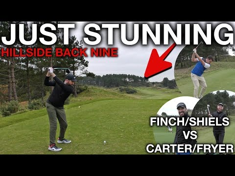 JUST A STUNNING COURSE! Me and Rick vs Andy and Fryer - Back Nine - Part One