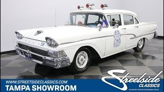 1958 Ford Custom 300 Police Car for sale | 1923 TPA