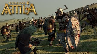 Battle of Yarmouk (636 AD) - Total War Attila 642 AD Dark Ages Mod Historical Battle