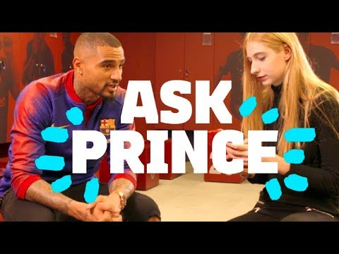 WHO IS KEVIN-PRINCE BOATENG'S IDOL? | Prince #90secondschallenge