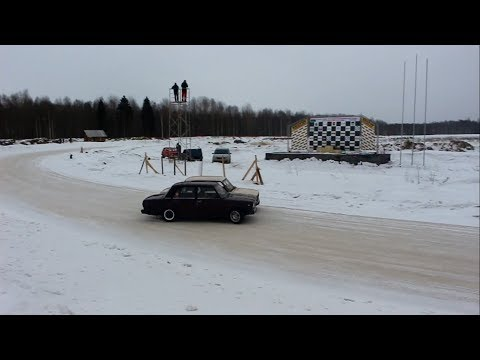 Зимний дрифт Вологодская область. 4-й этап. ЦТВС \
