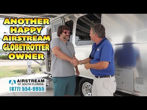Airstream 2020 Globetrotter 23 Happy Owner - YouTube