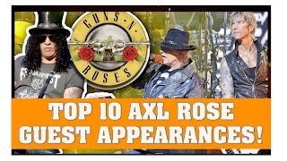 guns n roses axl rose s top 10 guest performances