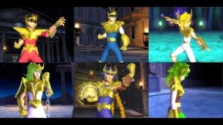 Saint Seiya - El Hades PS2 Golden Pack