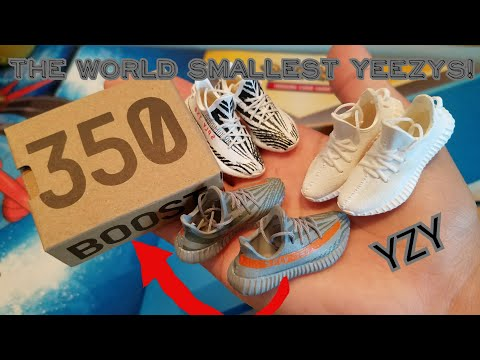 SMALLEST YEEZYS IN THE WORLD?!?!(REVIEW +UNBOXING)