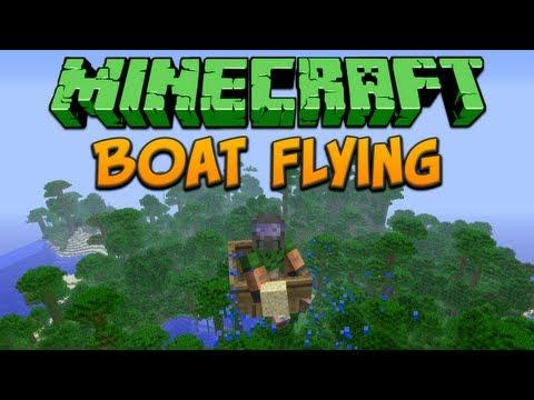 Minecraft: Boat Flying Tutorial