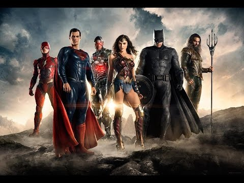 Justice League Trailer - Comic Con