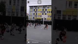 Abdülhak Hamit 19 mayıs basketbol gösterisi Video