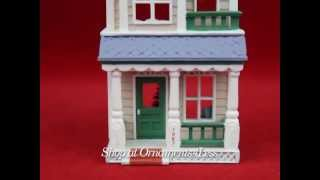 1987 Nostalgic Houses and Shops #4 - House on Main St. - Artist Signed - Shop at Ornaments4Less!