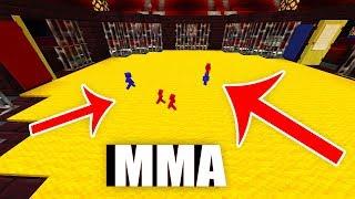 WALKA MAŁYCH ŻOŁNIERZY W MMA W MINECRAFT!