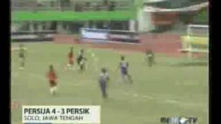 Persija vs Persik Kediri 4 3 Piala INDONESIA 2010