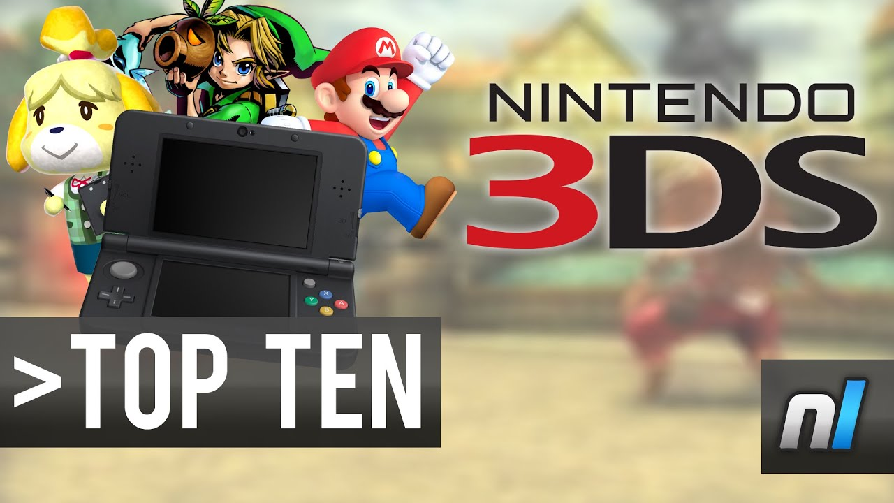 Top Ten Must Play Nintendo 3ds Games Youtube