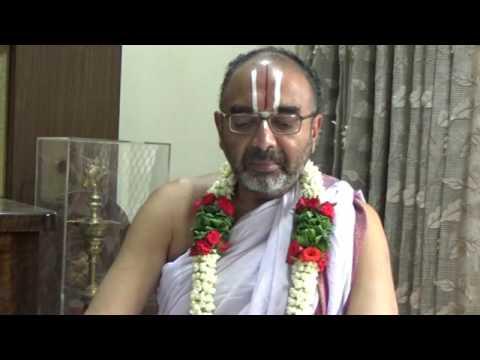 "27 May 2017 Part 1 of 4; Sri Velukkudi Krishnan Upanyasam on "" NITHYAM "" Grantham by Ramanujar"