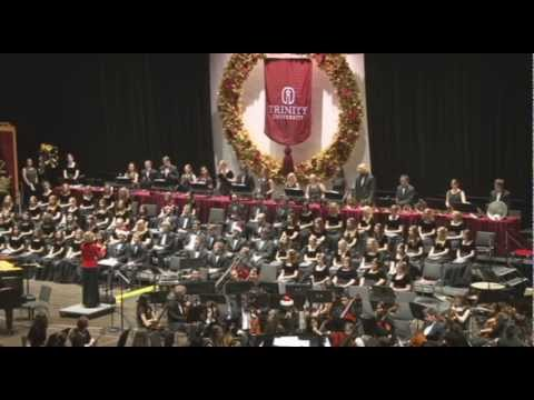 Trinity University Handbell Ensemble plays