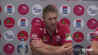 2018 Super Rugby Round 15: Reds press conference
