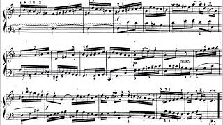 Invention No. 4 in D Minor by J.S. Bach