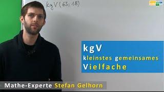 kgV berechnen, kleinstes gemeinsames Vielfaches, kgV Primfaktorzerlegung