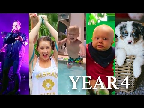 DAILY BUMPS YEAR 4 MONTAGE!