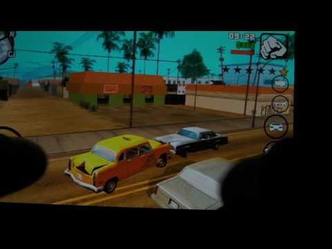 GTA San Andreas Max setting Snapdragon 600 4x1 7ghz Adreno 320 2GB 1080p Sharp Aquos SH 06E