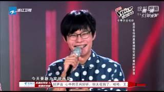 中國好聲音第二季第八期 葉秉桓獲哈林轉身 加入哈林隊健身房