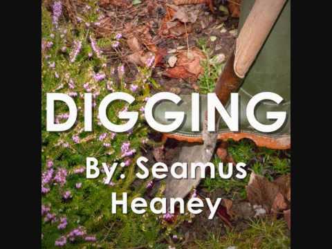 Digging by seamus heaney essay