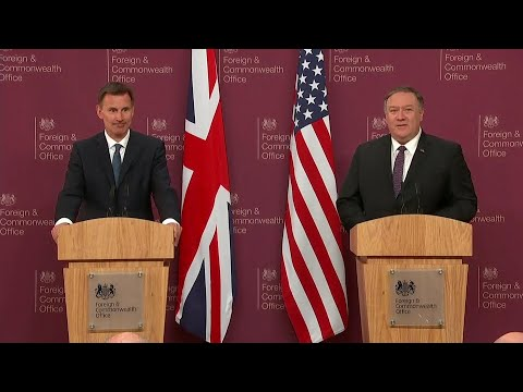 Opening Press Remarks With British Foreign Secretary Jeremy Hunt