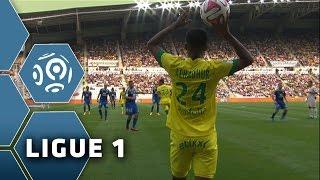 FC Nantes - Olympique Lyonnais (1-1)  - Résumé - (FCN - OL) / 2014-15