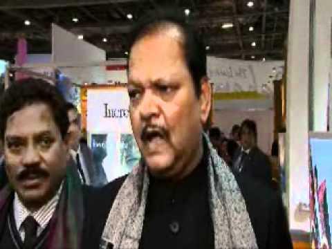 Shri Subodh Kant Sahai, Minister of Tourism, India @ WTM 2011