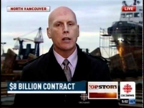 BC Awarded $8 Billion Ship Building Contract