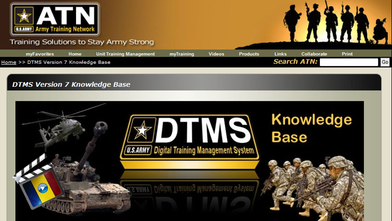 army s premier web based resource digital training management rh youtube com army dtms user manual pdf Dtms Start Page