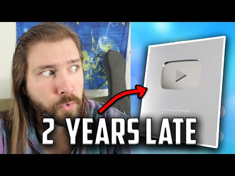 Finally got my Silver Play Button (2 years later) | Mike The Music Snob