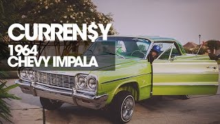 Curren$y on his 1964 Chevy Impala's Custom Paint Job